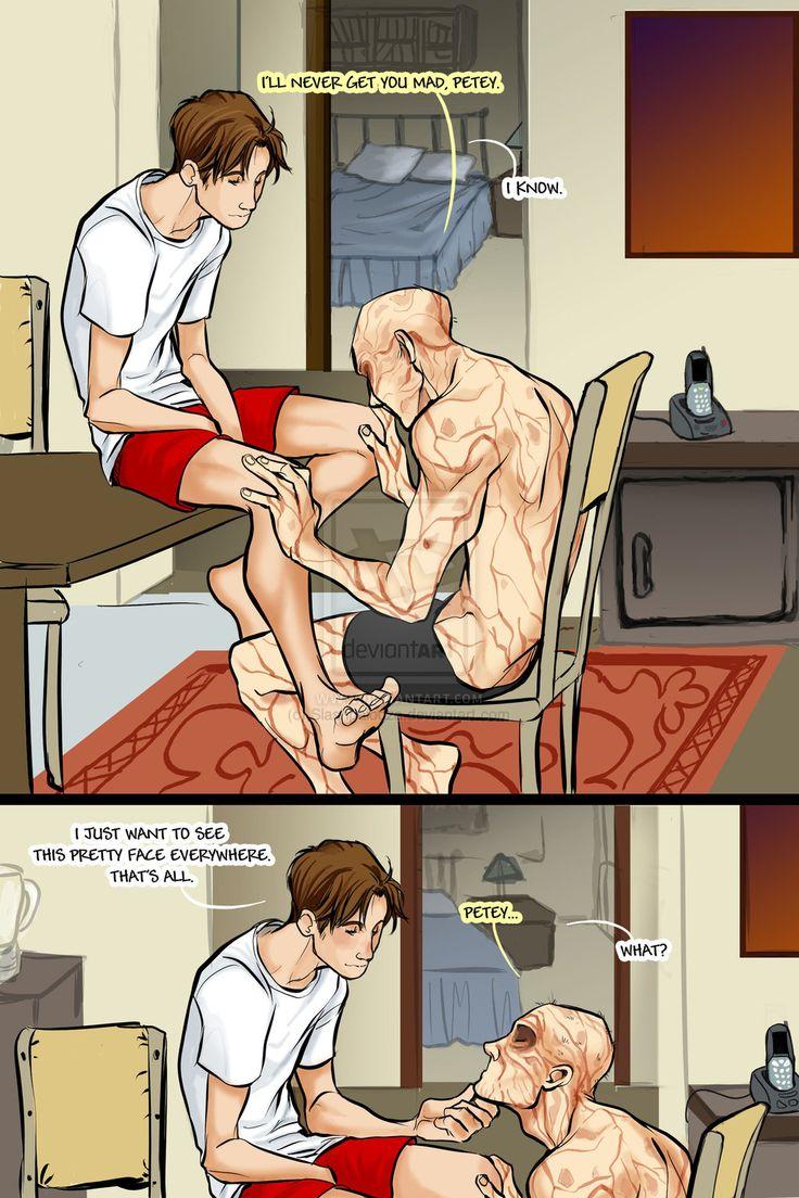 SPIDEYPOOL comic Commission by Romax pg4 by Slashpalooza.deviantart.com on @DeviantArt