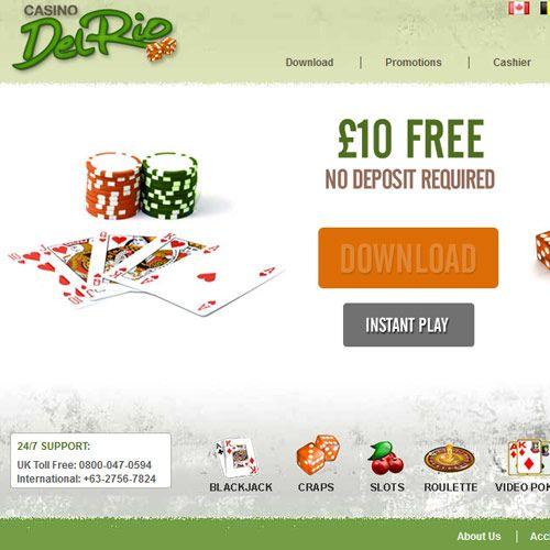 Play Online Casino Del Rio – No deposit required