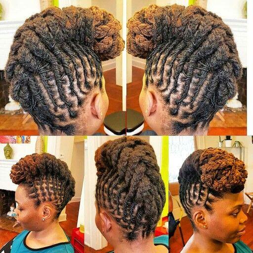 97 best diy hair edition locs images on pinterest natural hair loc updo from locmamas salon solutioingenieria Gallery