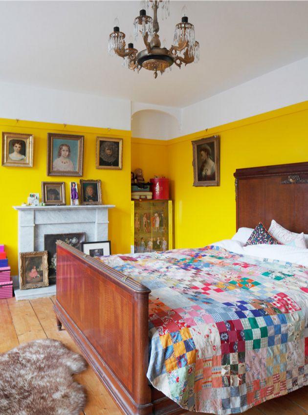Best 25 yellow walls ideas on pinterest yellow kitchen for Bedroom ideas yellow walls