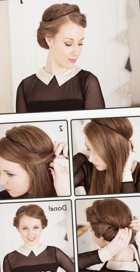 Coiffure nouvel an simple. Coiffure cheveux Idee tendances2018  tendances2019