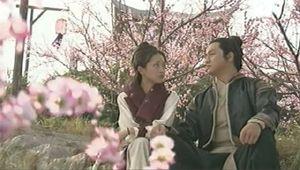 Guo Jing and Huang Rong at Tao Hua Dao