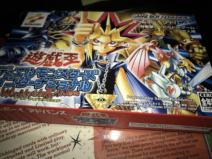 Bought a mystery box and it had a boxed Japanese gba yugioh game. Odd but cool.