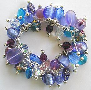Homemade Jewelry Ideas | Emerald Forest Is Home Of The Original Bunches Of  Glass Bracelets .