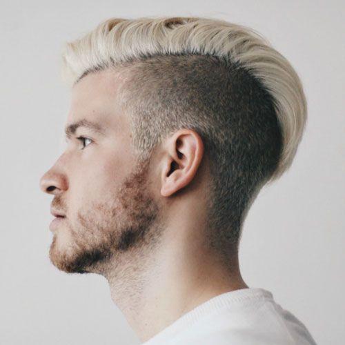 Long Comb Over Undercut + Beard