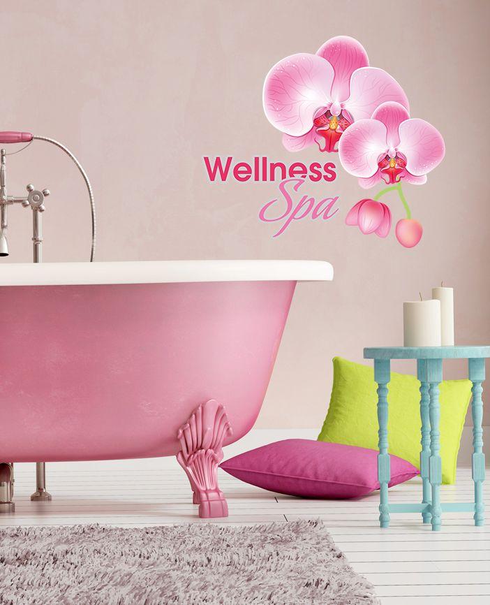 40 besten Wanddeko für Badezimmer Bilder auf Pinterest - Wandtattoos Fürs Badezimmer