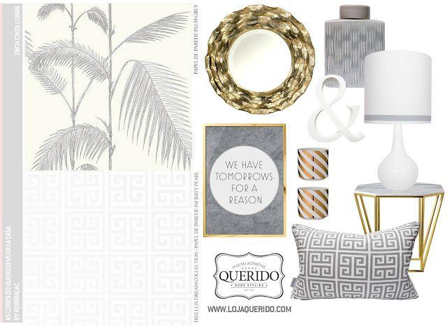 Gray and gold * Cinza e Dourado