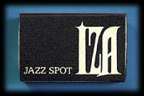 JAZZ喫茶のマッチ・IZA 70年代後半の懐かしのジャズ喫茶のマッチをいろいろ紹介