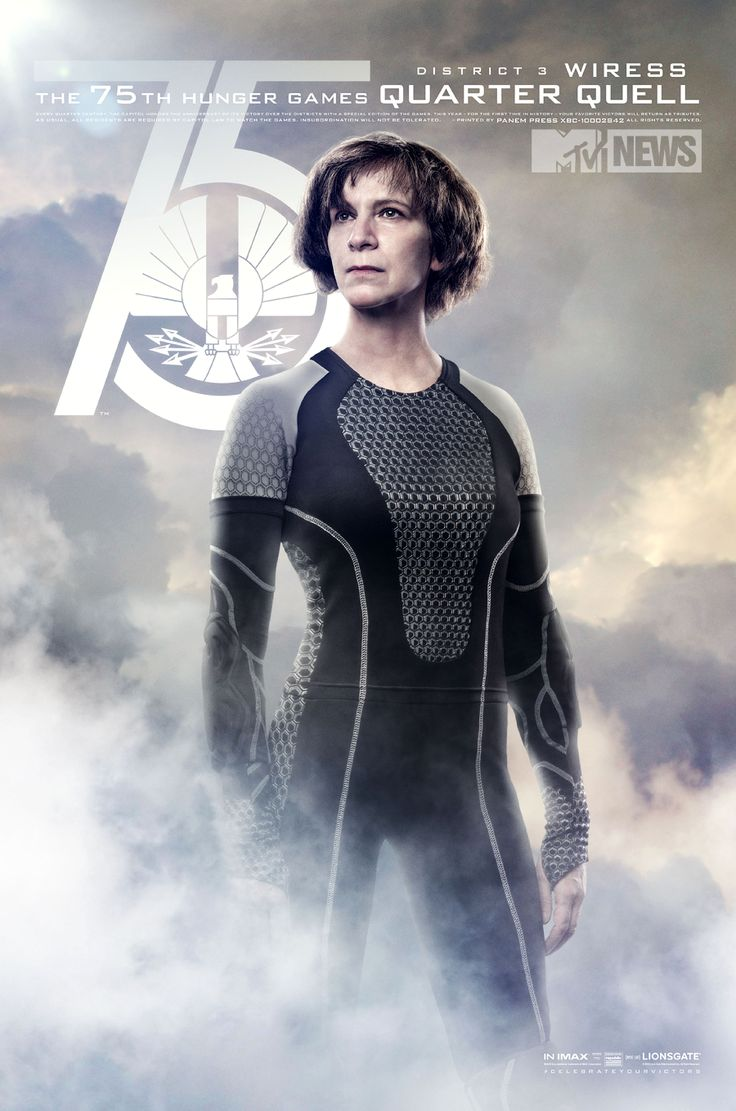 Wiress! (Exclusive 'Catching Fire' Posters: Meet Wiress And Beetee! - Music, Celebrity, Artist News | MTV.com)