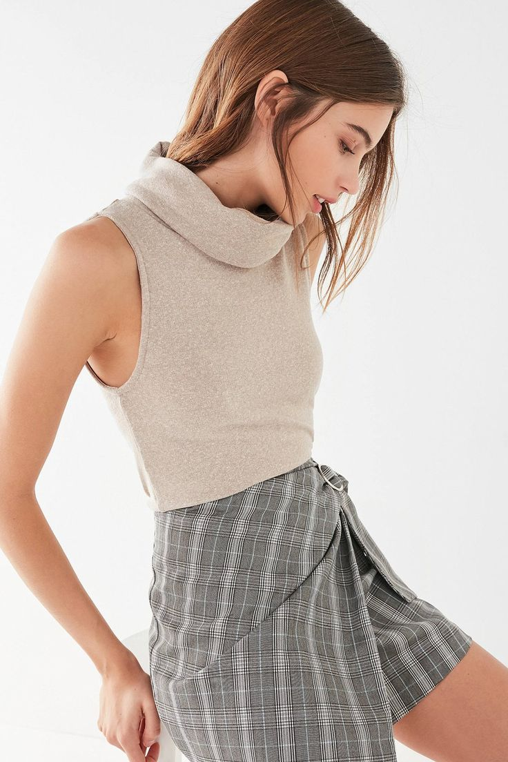 UO Fife Turtleneck Tank Top | Urban Outfitters