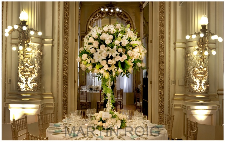 Martin Roig - centro de mesa en altura
