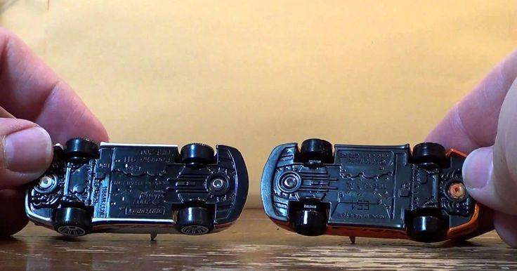 La diferencia entre los autos Hot Wheels y los autos Matchbox . Los autos Hot Wheels y Matchbox son vistos como rivales porque son las dos compañías de coches de juguete de mayor venta en el mercado. Aunque empezaron com propiedad de diferentes compañías, ambos son propiedad y producido de la misma compañía de juguetes en 2009, Mattel. La verdadera diferencia entre los dos tipos es su diseño.