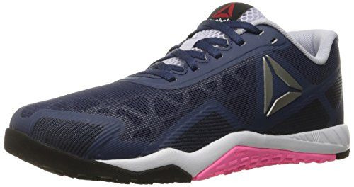 Reebok Women's Ros Workout Tr 2-0 Cross-Trainer Shoe, Blue Ink/Collegiate Navy/Lucid Lilac, 7.5 M US