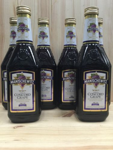 Red Wines 38182: 6-Bottles Manischewitz Concord Grape Wine -> BUY IT NOW ONLY: $55.99 on eBay!