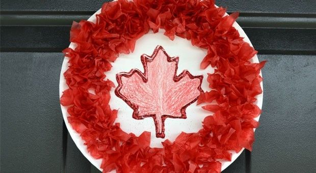 The kids will have a blast making their very own patriotic decorations for Canada Day this year.