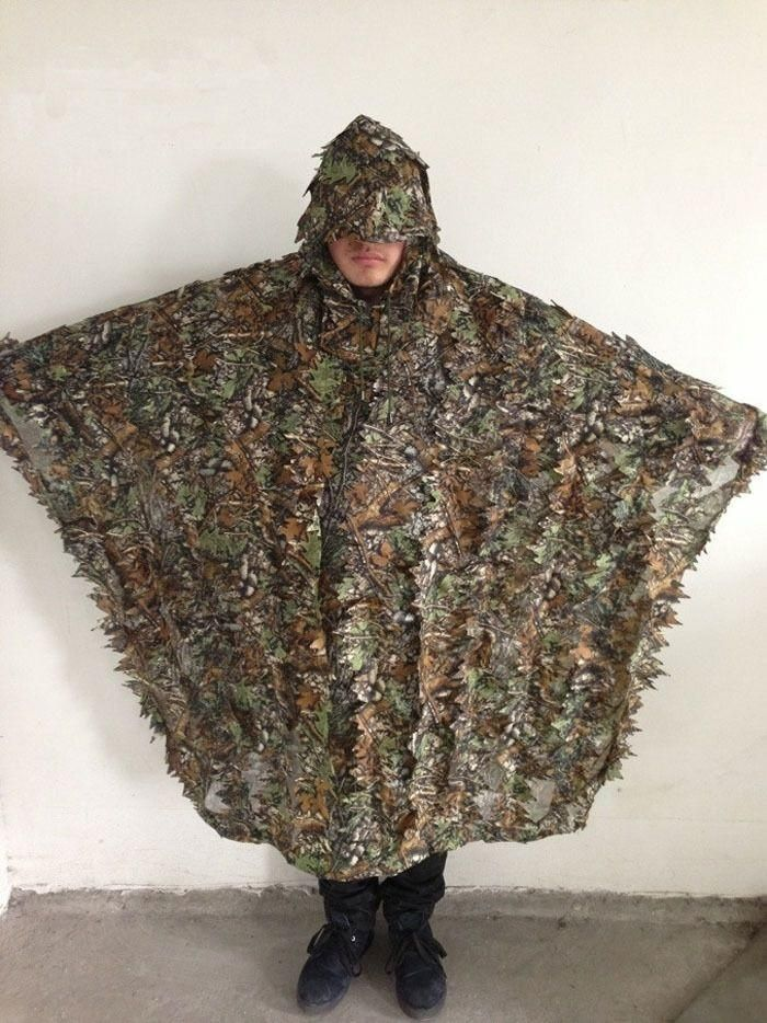 Specification: Model: Cloak Style Camouflage Suit Color: Jungle Camo Weight: about 390g