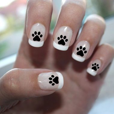 Dog Paw Princess Images In Black And With
