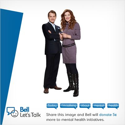 Bell is donating to mental health associations in Canada today. See how you can help!