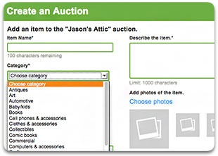 Outbid Site Update - Item Categories, Post-Auction Time