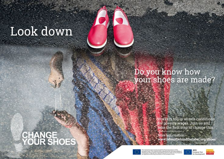 Labour Behind the Label - change your shoes. It's time to change the way the shoe industry operates