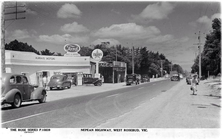 Nepean Highway/Point Nepean Road, West Rosebud Back in the day didn't take much to be a HWY.