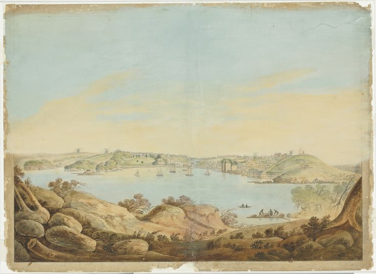 Several skilled artists were transported for forgery.  Once in the colony, they used their art to record and interpret the landscape and people of the colony.