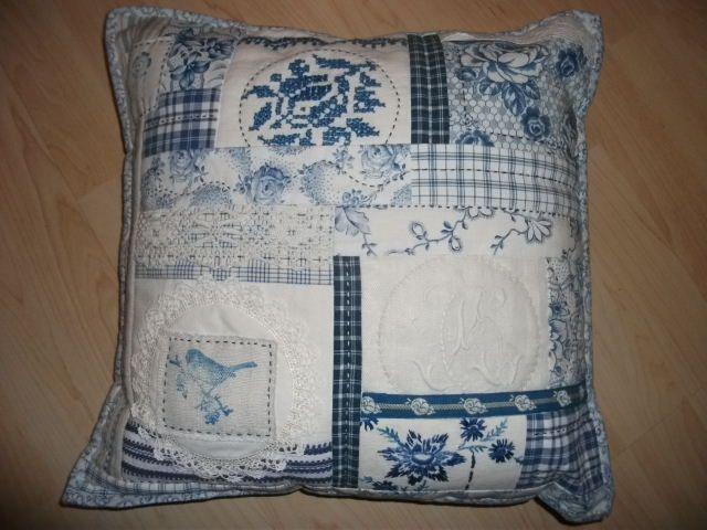 collage-cushion vintage fabrics