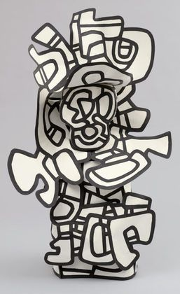 The Anachronism - sculpture by  Jean Dubuffet