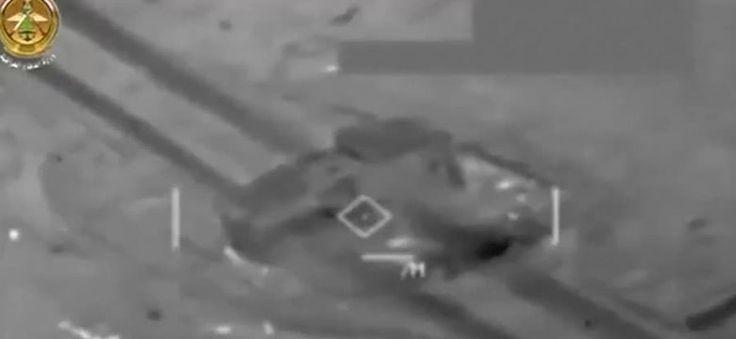 Irak publikuje wideo z ataku na pozycje tzw. państwa islamskiego #ISIS #terroryzm