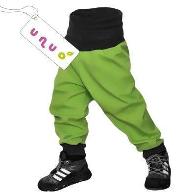 Unuo Softshellové kalhoty limetka