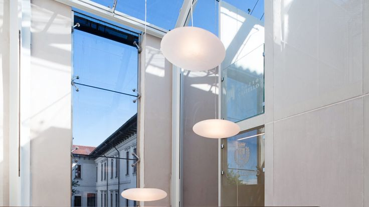 Ampliamento Castello di Legnano - HI LITE Next, Fornitura apparecchi di illuminazione #viabizzuno #lenticchia For m #c1 led