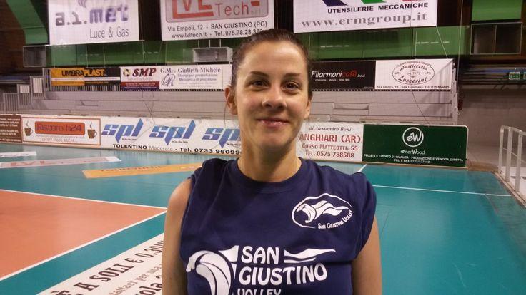 San Giustino Volley, martedì 3 il primo allenamento della neo-mamma Silvia Tosti