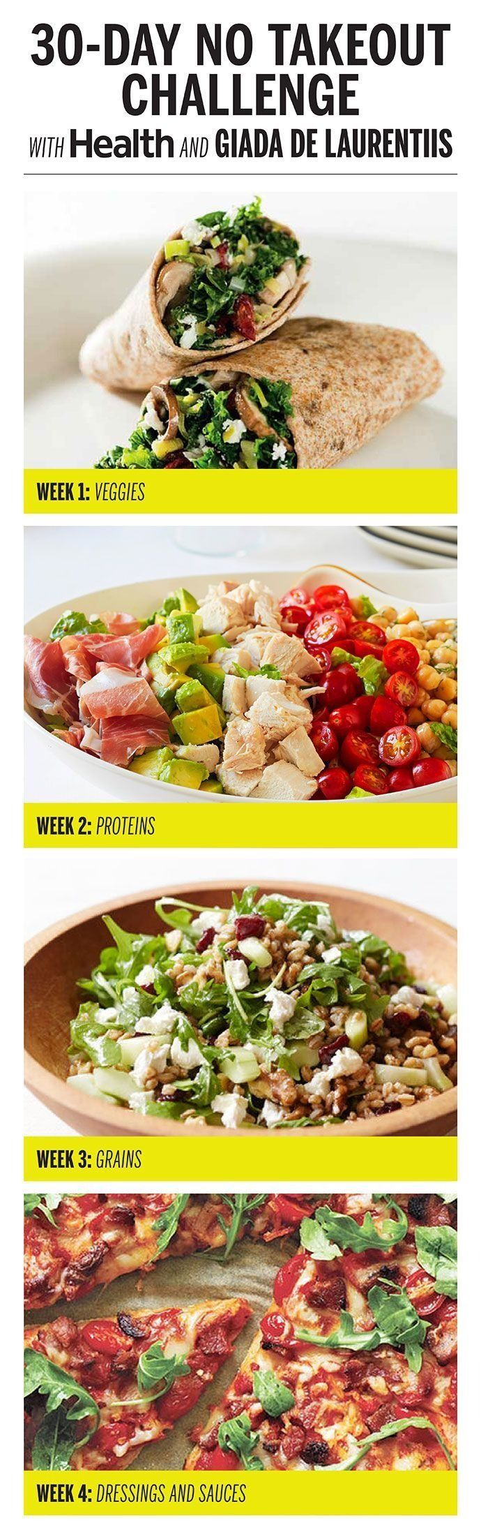 Eat clean (and save money!) with four weeks of healthy, easy-to-make…
