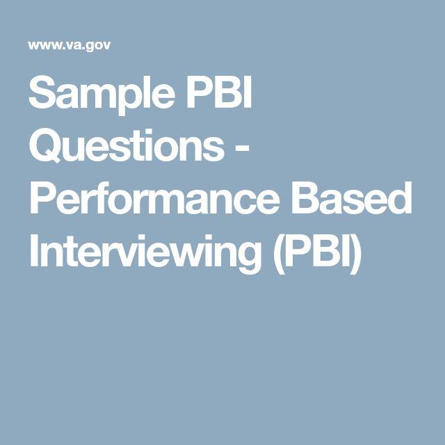 Más de 25 ideas únicas sobre Preguntas de la entrevista de la - sample interview questions