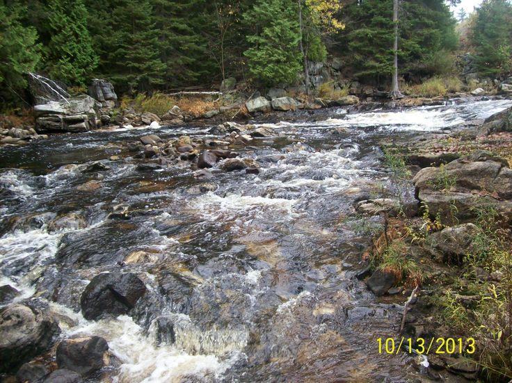 The Seguin Rapids off Highway 518 East of orrville Ont.