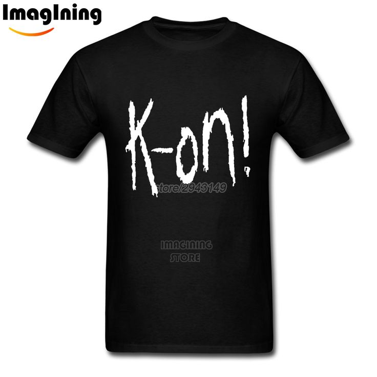 2017 Hot Sale Korn Letter Print Heavy Metal Rock Band Fashionable T Shirts 2XL Mens Customised Homme Tee Shirts Camisetas #Affiliate