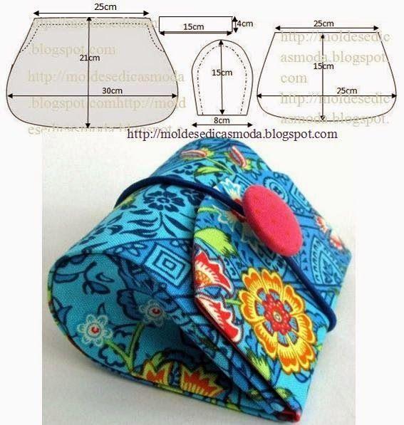 pochete em tecido