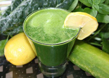Sweet Green Basil Juice | Reboot With Joe