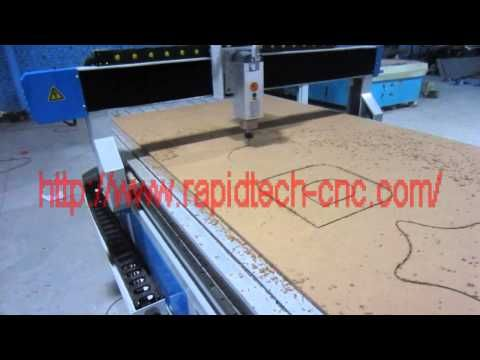 ballscrew cnc router 30m fast speed working - YouTube