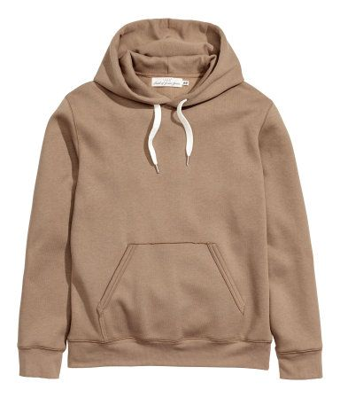 Hooded Sweatshirt | Dark beige | Men | H&M US