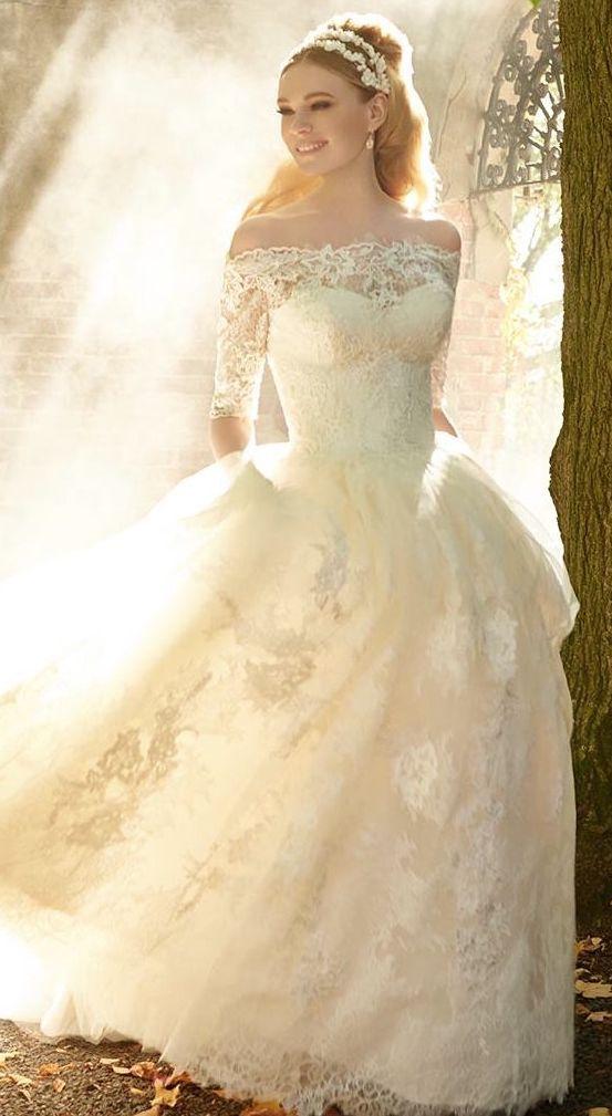 Wedding dress idea; Featured Dress: Matthew Christopher