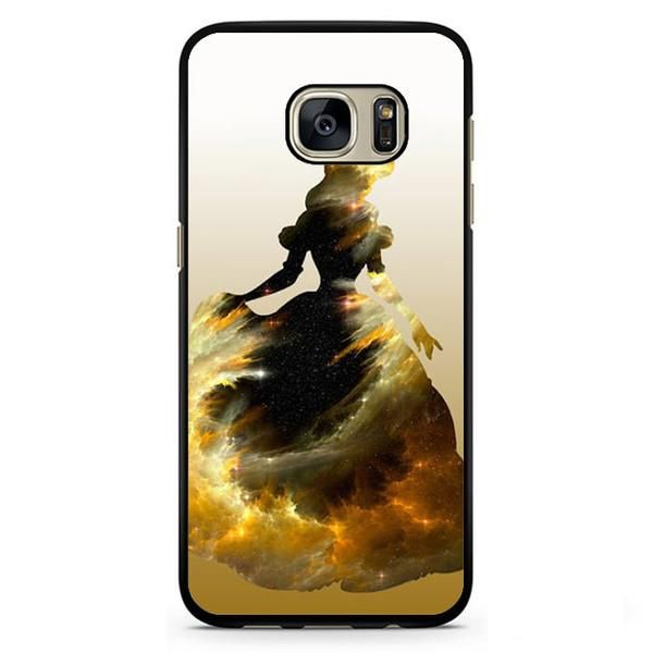 Princess Belle Phonecase Cover Case For Samsung Galaxy S3 Samsung Galaxy S4 Samsung Galaxy S5 Samsung Galaxy S6 Samsung Galaxy S7. Image is printed on aluminum