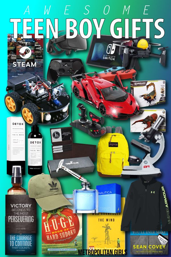 Cool Gift Ideas For Teenage Boys