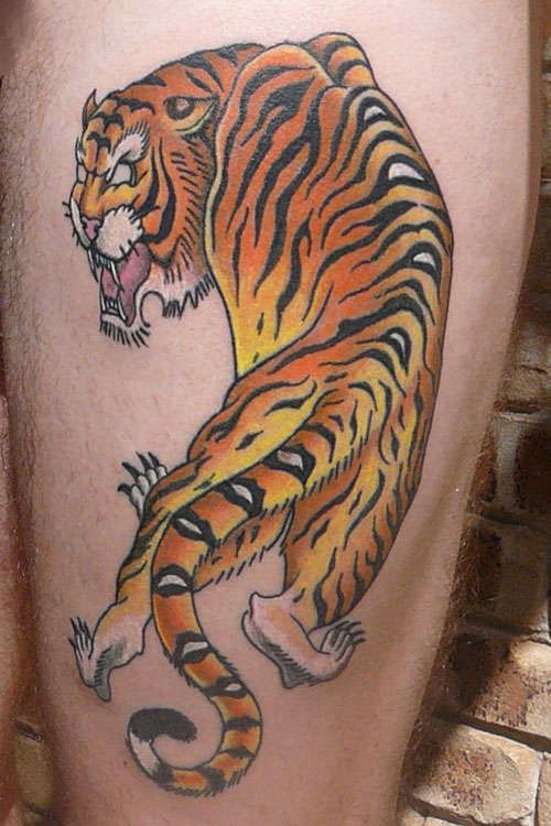 161 best images about tiger tattoos on pinterest animal tattoos tiger tattoo design and mike. Black Bedroom Furniture Sets. Home Design Ideas