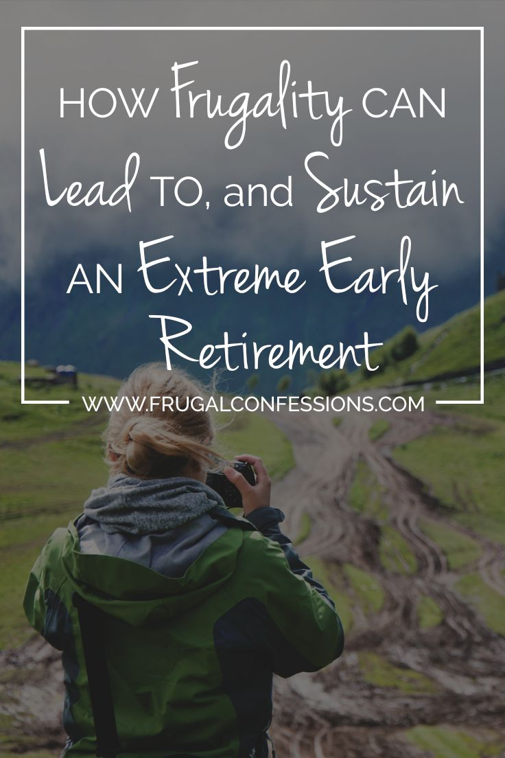 On early retirement: If we want to be able to dream about and potentially live in early retirement, then we need to redefine the American Dream. | http://www.frugalconfessions.com/retirement/how-frugality-can-lead-to-and-sustain-an-extreme-early-retirement.php