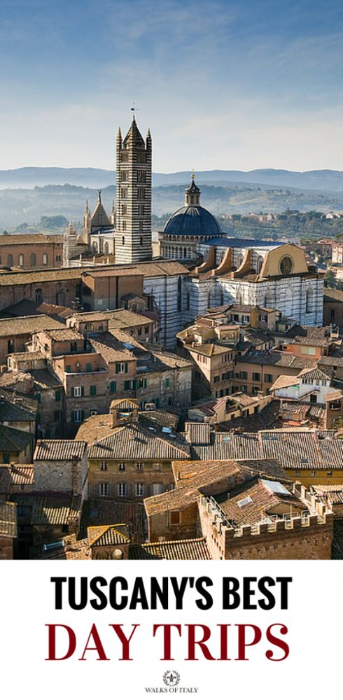 The medieval city of Siena is one of the best day trips in Tuscany and it easy to reach from Florence. If you go to Italy you have to check it out!