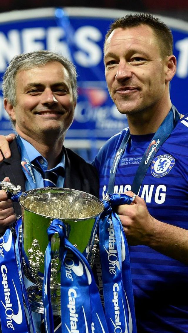 José Mourinho / John Terry - best manager and captain ever #legends