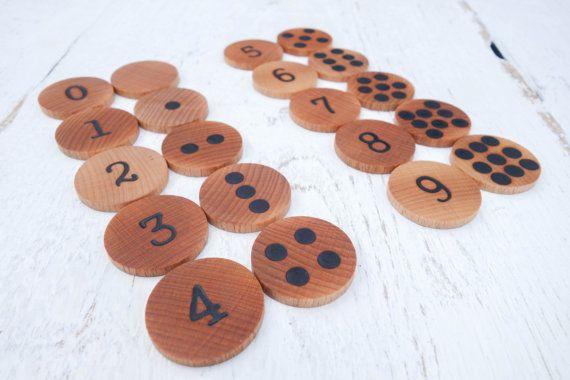Anzahl matching-Spiel Memory-Spiel Mathe-Spiel von MazaisMeistars