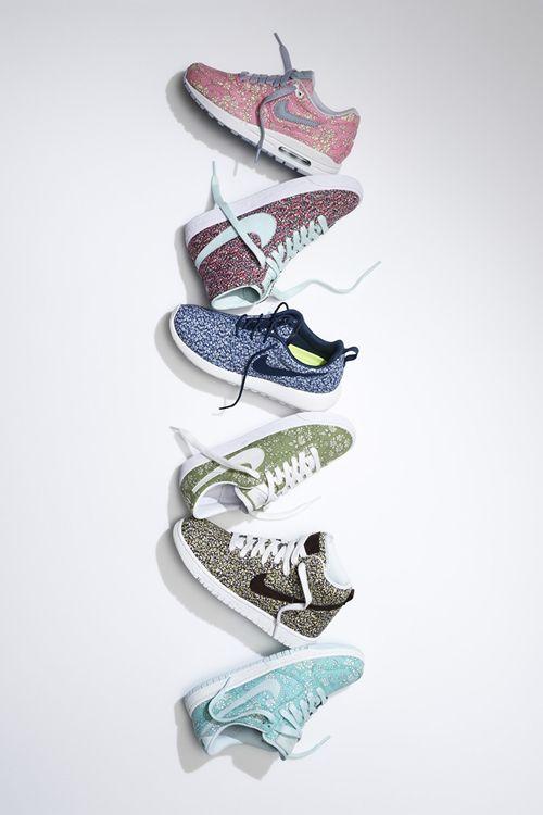 Liberty Nikes, imprescindibles este invierno. #PersonalShopper School