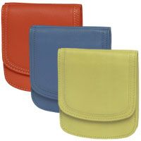 The Canyon Taxi Wallet® Series. One of our most popular leathers - buttery soft yet very durable
